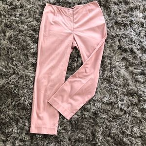 ANN TAYLOR CROP COTTON STRETCH ANKLE PANTS